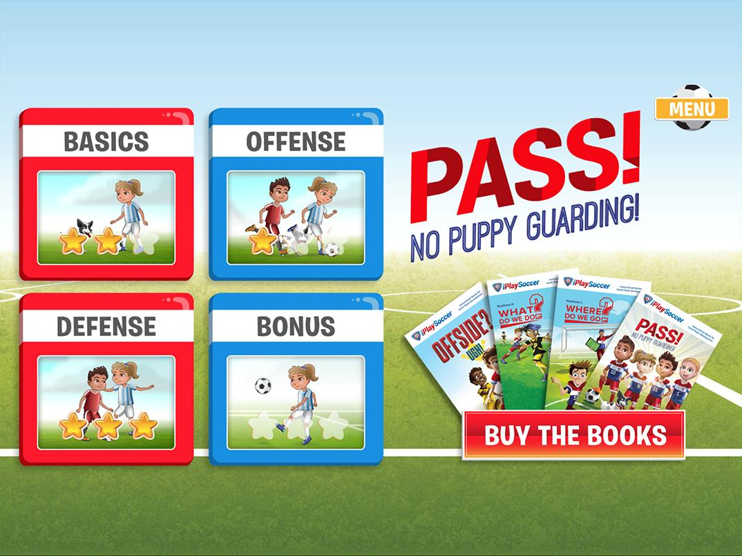 LearnSport Books - App design and development by Code and Visual - tablet screenshot 1